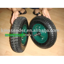 Trolley pneumatic wheel/rubber wheel 4.00-8/barrow wheel